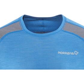 Norrøna Bitihorn Wool Shirt Men Hot Sapphire